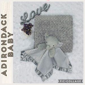 Adirondack • Gray Blanket & Security Blanket